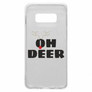 Samsung S10e Case Oh deer