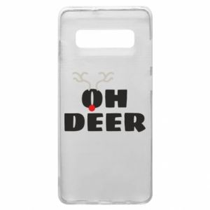 Samsung S10+ Case Oh deer