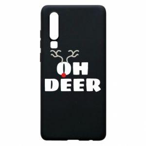 Huawei P30 Case Oh deer