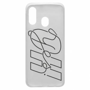 Phone case for Samsung A40 Oh yes