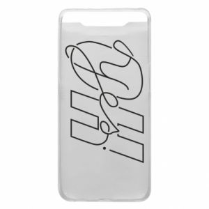 Phone case for Samsung A80 Oh yes