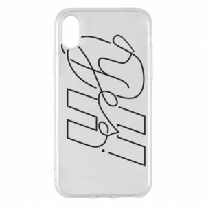 Phone case for iPhone X/Xs Oh yes