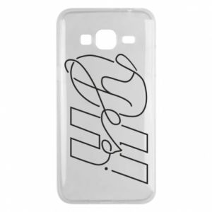 Phone case for Samsung J3 2016 Oh yes