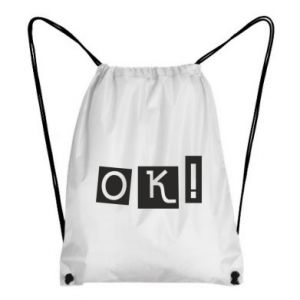 Plecak-worek Ok! Color