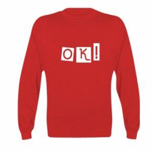 Bluza dziecięca Ok! Color