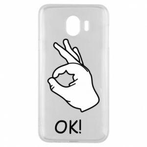 Phone case for Samsung J4 OK!