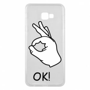 Phone case for Samsung J4 Plus 2018 OK!