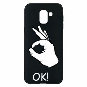 Phone case for Samsung J6 OK!