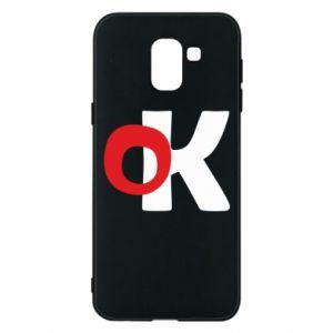 Etui na Samsung J6 Ok