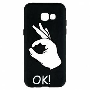 Phone case for Samsung A5 2017 OK!