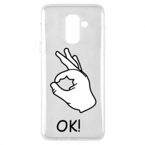 Phone case for Samsung A6+ 2018 OK!