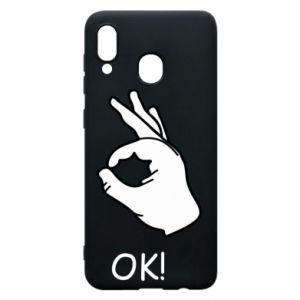 Phone case for Samsung A20 OK!