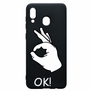 Phone case for Samsung A30 OK!