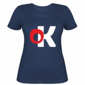 Damska koszulka Ok