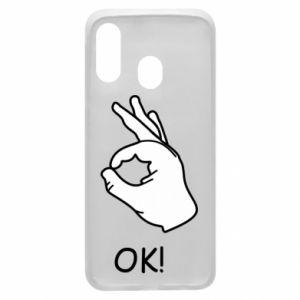 Phone case for Samsung A40 OK!