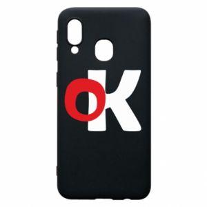 Etui na Samsung A40 Ok