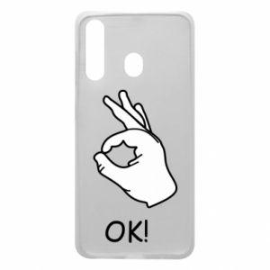 Phone case for Samsung A60 OK!