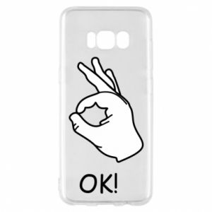Phone case for Samsung S8 OK!