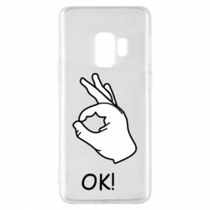 Phone case for Samsung S9 OK!