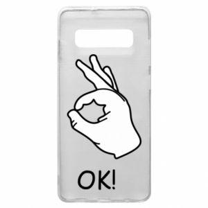 Phone case for Samsung S10+ OK!