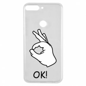 Phone case for Huawei Y7 Prime 2018 OK!
