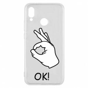 Phone case for Huawei P20 Lite OK!