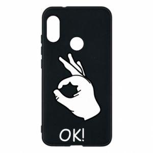 Phone case for Mi A2 Lite OK!