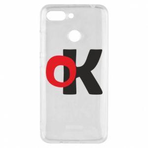 Etui na Xiaomi Redmi 6 Ok