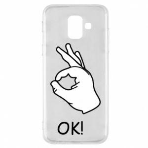 Phone case for Samsung A6 2018 OK!