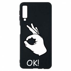 Phone case for Samsung A7 2018 OK!