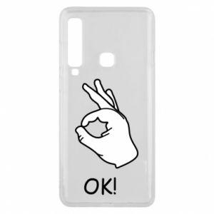 Phone case for Samsung A9 2018 OK!