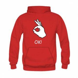 Kid's hoodie OK!