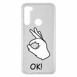 Xiaomi Redmi Note 8 Case OK!