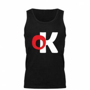 Męska koszulka Ok