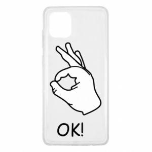 Samsung Note 10 Lite Case OK!