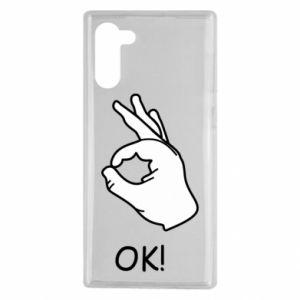 Samsung Note 10 Case OK!