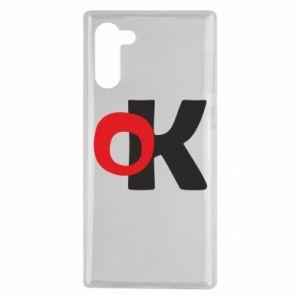 Etui na Samsung Note 10 Ok