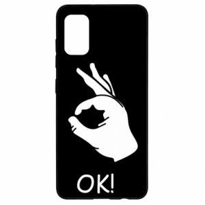 Samsung A41 Case OK!