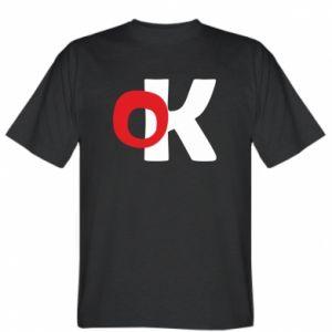 Koszulka męska Ok