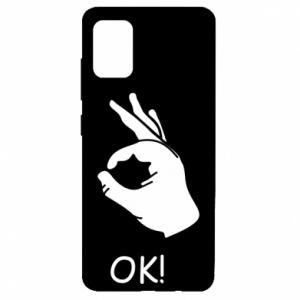 Etui na Samsung A51 OK!