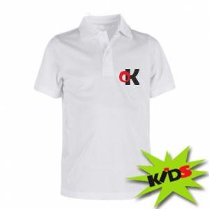 Koszulka polo dziecięca Ok