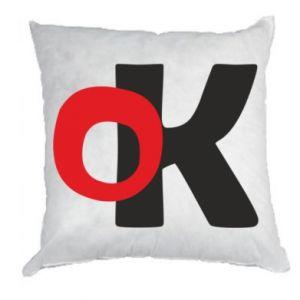 Poduszka Ok
