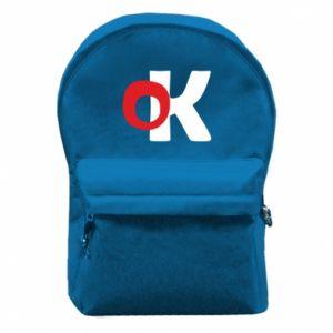 Plecak z przednią kieszenią Ok