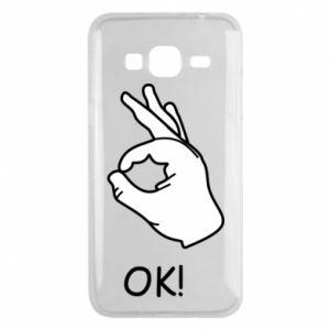 Phone case for Samsung J3 2016 OK!