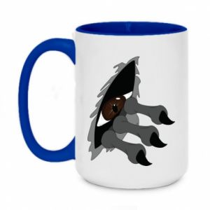 Two-toned mug 450ml Monster eye