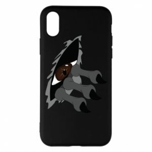 Phone case for iPhone X/Xs Monster eye