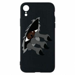 Phone case for iPhone XR Monster eye
