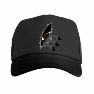 Trucker hat Monster eye