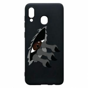 Phone case for Samsung A20 Monster eye