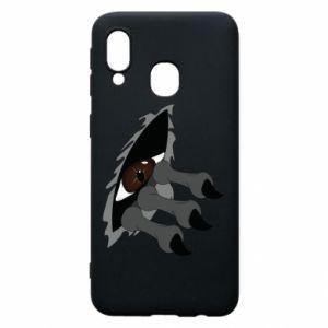 Phone case for Samsung A40 Monster eye